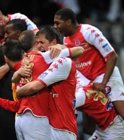 Reims est en ligue 1 !
