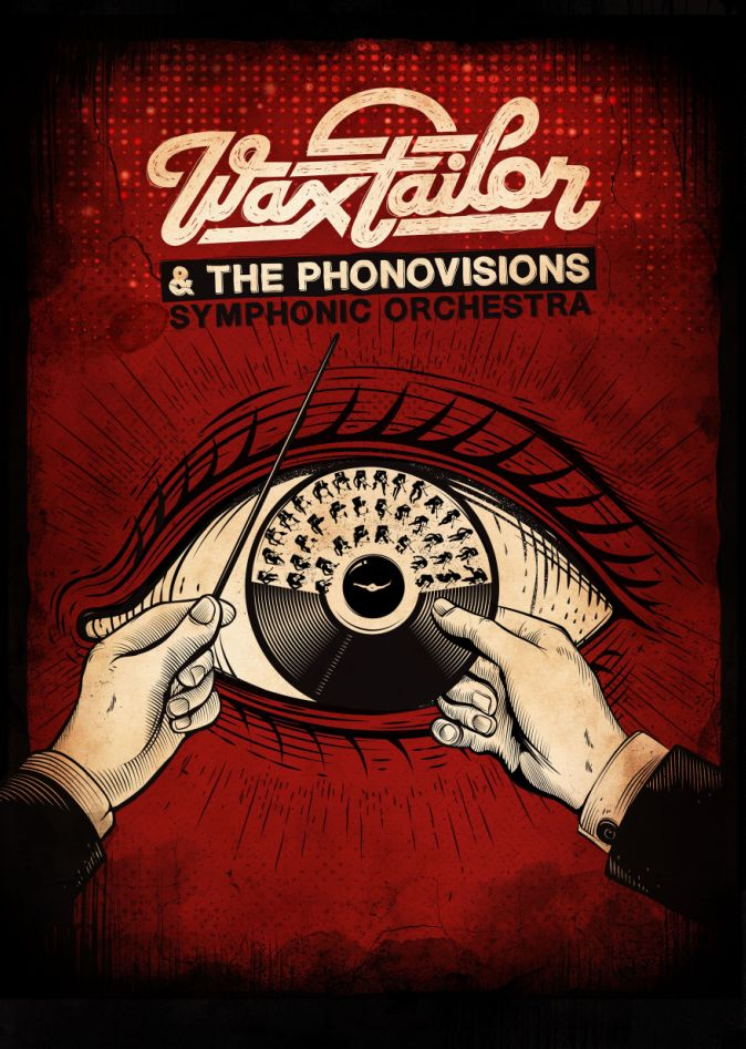 Tournée 2014 de Wax Tailor et The Phonovisions Symphonic Orchestra