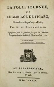 livre mariage de figaro