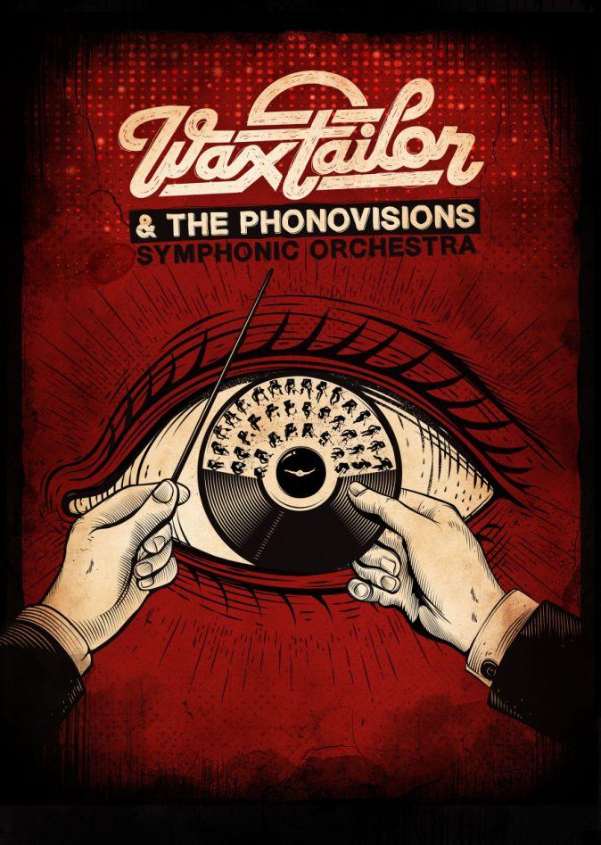 Tournée 2014 de Wax Tailor et The Phonovisions Symphonic Orchestra